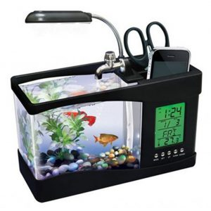 USB Desktop Mini Fish Tank Aquarium