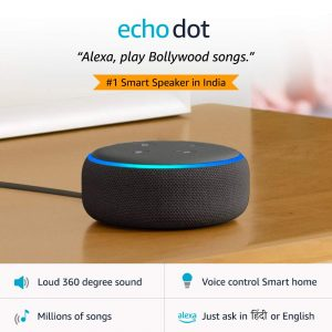 Echo Dot – Smart Speaker