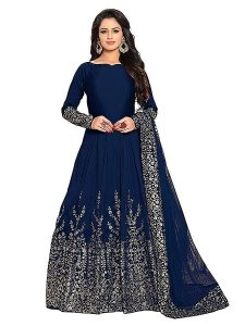 Women's Embroidered Anarkali Gown