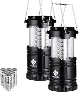 Portable Camping Lantern Flashlight