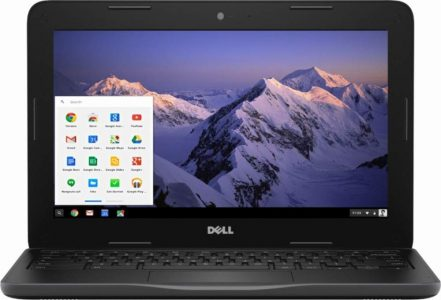 "Dell Inspiron 11.6"" HD Chromebook, Intel Dual-Core Celeron N3060"