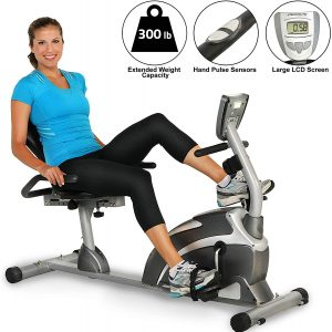 EXERPEUTIC 900XL 300 lbs. Weight Capacity with Pulse