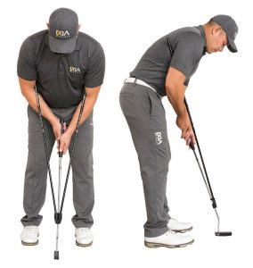 True Pendulum Motion (TPM) Golf Putting Trainer