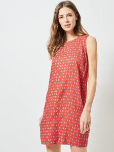 DOROTHY PERKINS Women Red Printed Shift Dress
