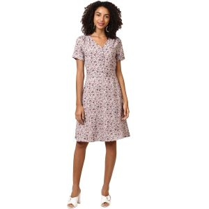 Harpa Synthetic Skater Dress