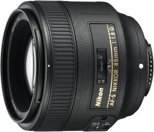 Nikon AF S NIKKOR 85mm f/1.8G Fixed Lens with Auto Focus