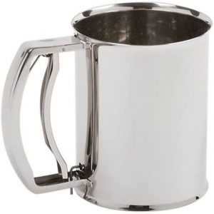 Norpro 3 Cup Stainless Steel Deluxe Sifter