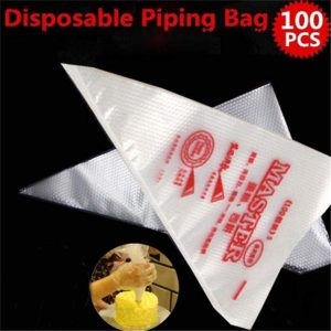 Disposable Cream Pastry Bag Cake Icing  Bag