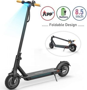 TOMOLOO Electric Scooter with Foldable Design