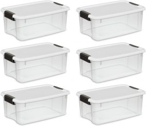 STERILITE 19849806 18 Quart/17 Liter Ultra Latch Box