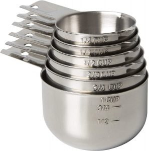 KitchenMade Measuring Cups Stainless Steel