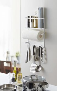 YAMAZAKI Plate Kitchen Rack-Magnetic Storage Holder & Organizer