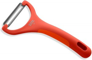 "Kuhn Rikon Serrated Piranha ""Y"" Peeler"