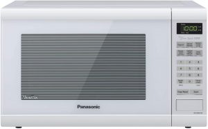 Panasonic NN-SN651WAZ Countertop Inverter Technology Microwave Oven
