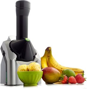 Yonanas 902 Classic Original Healthy Dessert Fruit Soft Serve Maker