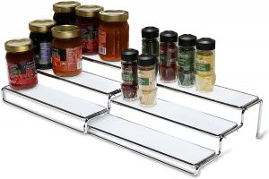 DecoBros 3 Tier Expandable Cabinet Spice Rack