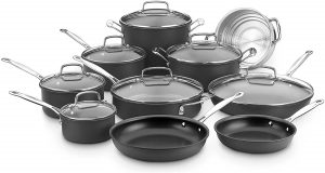 Cuisinart 66-17N Chef's Classic Non-Stick Hard Anodized, 17 Piece Set