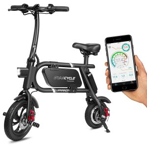 SwagCycle Pro Folding Pedal Free and App Enabled Bike