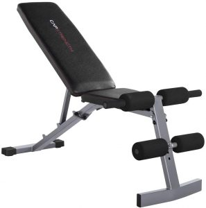 WF Athletic Supply Adjustable Weight Bench