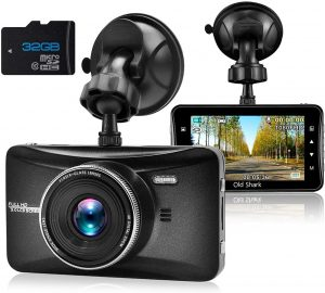 Dash Cam 1080P Full HD