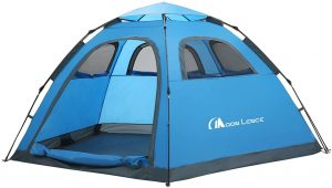 MOON LENCE Instant Pop Up Tent Family Camping Tent 4-5 Person