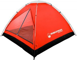 2-Person Tent, Water Resistant Dome Tent for Camping