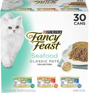 Fancy Feast Grain Free Pate Wet Variety Pack