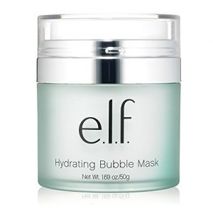 e.l.f. Cosmetics Hydrating Bubble Mask for Cleansing and Moisturizing Your Skin