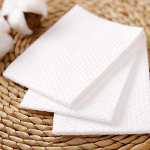 Non-Woven Cotton Dry Wipes Facial Cleansing Make Up Remover Wipes