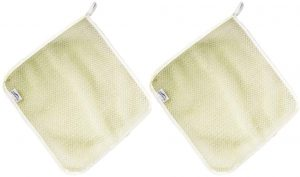 Best Face Cloths & Towelettes - Harilla 2 Pieces Nylon Face Terry Cloth Padding Cleaning Peeling Scrubber Soft