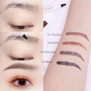 Eyebrow Tattoo Pen,Tat Brow Microblading Eyebrow Pencil