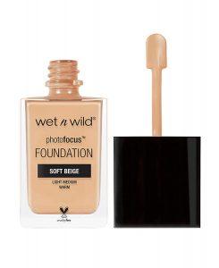 Best Foundation - wet n wild Photo Focus Foundation, Soft Beige