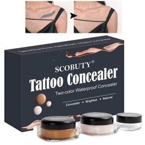 Two Colors Cover Up Make up