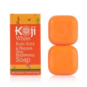 Best Face Bars - Koji White Kojic Acid & Papaya Skin Brightening Soap