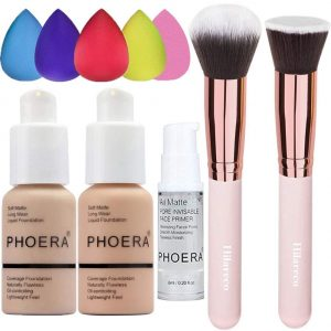 PHOERA Foundation Warm Peach 103 and PHOERA Primer