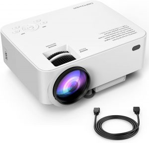 Teens Gift Ideas -DBPOWER T20 LCD Mini Movie Projector