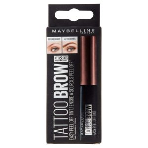 Best Eyebrow Color - Maybelline New York Brow Tattoo Longlasting Tint, Dark Brown