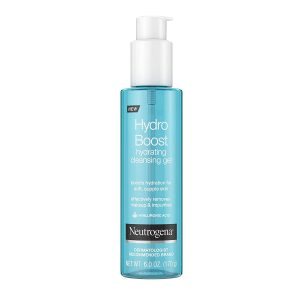 Best Face Gels - Neutrogena Hydro Boost Lightweight Hydrating Facial Cleansing Gel