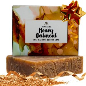 Oatmeal Honey Goat Milk Soap