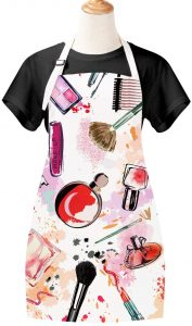 Best Womens Gifts - Sevenstars Girls Apron Cosmetic Theme Cooking Apron