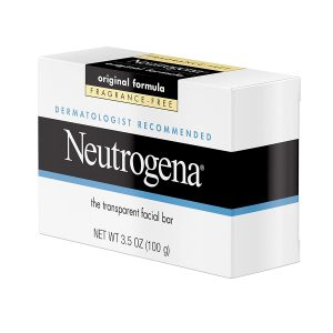 Neutrogena Original Fragrance-Free Facial Cleansing Bar with Glycerin