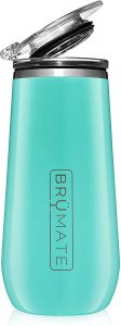 BrüMate 12oz Insulated Champagne Flute With Flip-Top Lid