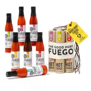 The Good Hurt Fuego: A Hot Sauce Gift Set for Hot Sauce Lover's