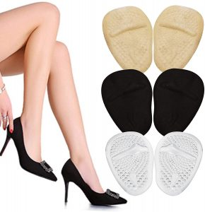 Best Womens Gifts - High Heel Cushions -Ball of Foot Pads- Non Slip Shoe Inserts