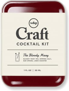 W&P Craft Cocktail Kit, Bloody Mary, Portable Kit for Drinks on the Go