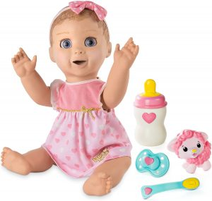 Best Girls Gifts - Luvabella Blonde Hair Interactive Baby Doll with Expressions & Movement