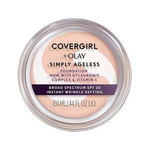 COVERGIRL & Olay Simply Ageless Instant Wrinkle-Defying, Creamy Natural