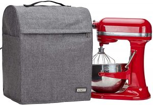 HOMEST Stand Mixer Cover Compatible with KitchenAid Bowl Lift 5-8 Quart