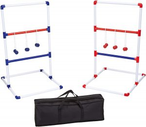 AmazonBasics Ladder Toss Outdoor Lawn Game Set