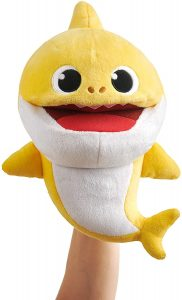 WowWee Pinkfong Baby Shark Official Song Puppet with Tempo Control